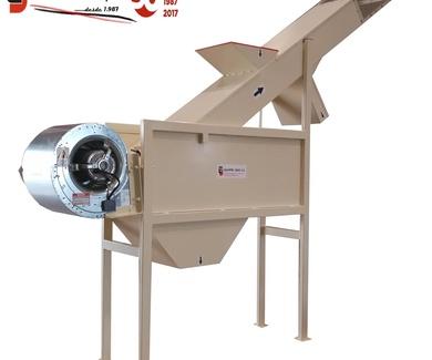 Soplador separación de Nueces Vacias - Túnel de viento Separación Nueces