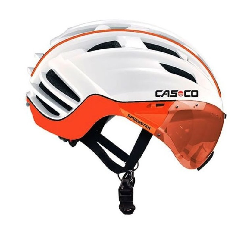 CASCO SPEEDSTER TC PLUS BLANCO/NARANJA TALLA M:  de E-Bike Guadarrama