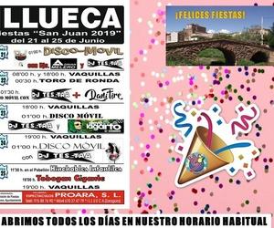 Ahora el turno es nuestro. Illueca celebra sus fiestas y las vamos a disfrutarpor todo lo alto. Abriremos todos los días. Os espramos!