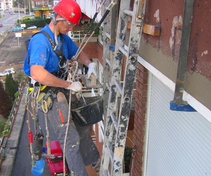 Reparación de fachadas en Torrelavega