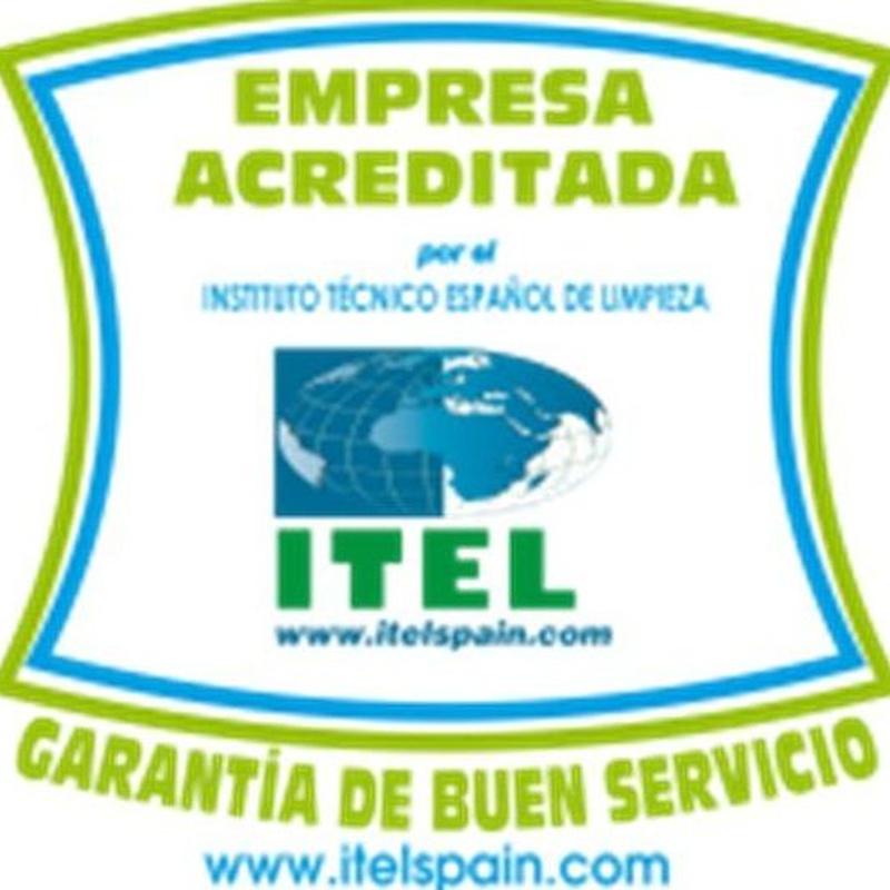 Certificado oficial de limpieza profesional en Bizkaia