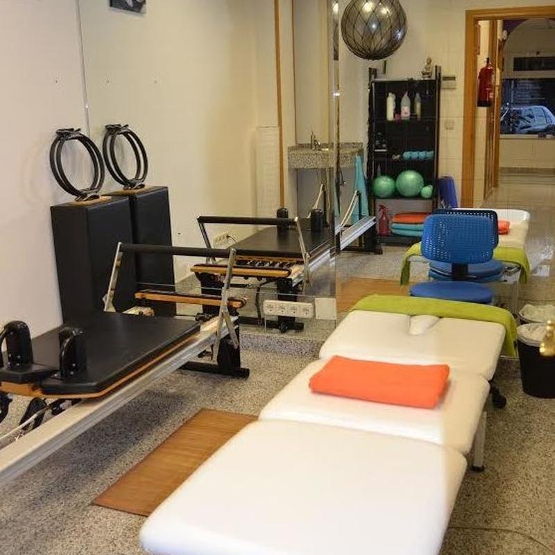 Método Pilates: Fisioterapia/Pilates de Fisioterapia Cuídate