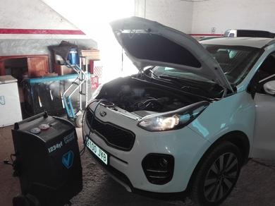 ¡Ya tenemos la nueva maquinaria para las cargas del nuevo gas 1234yf!