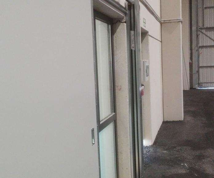 Puerta Corredera cortafuegos EI2-60 en Santander