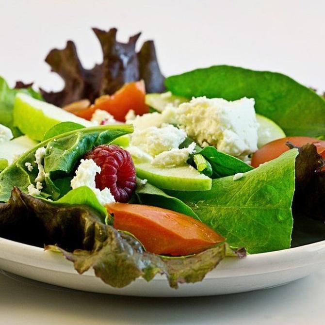 El comer saludable gracias al menú diario