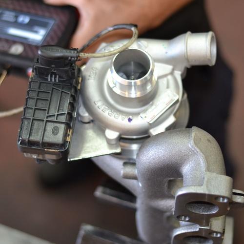 Reparación turbo