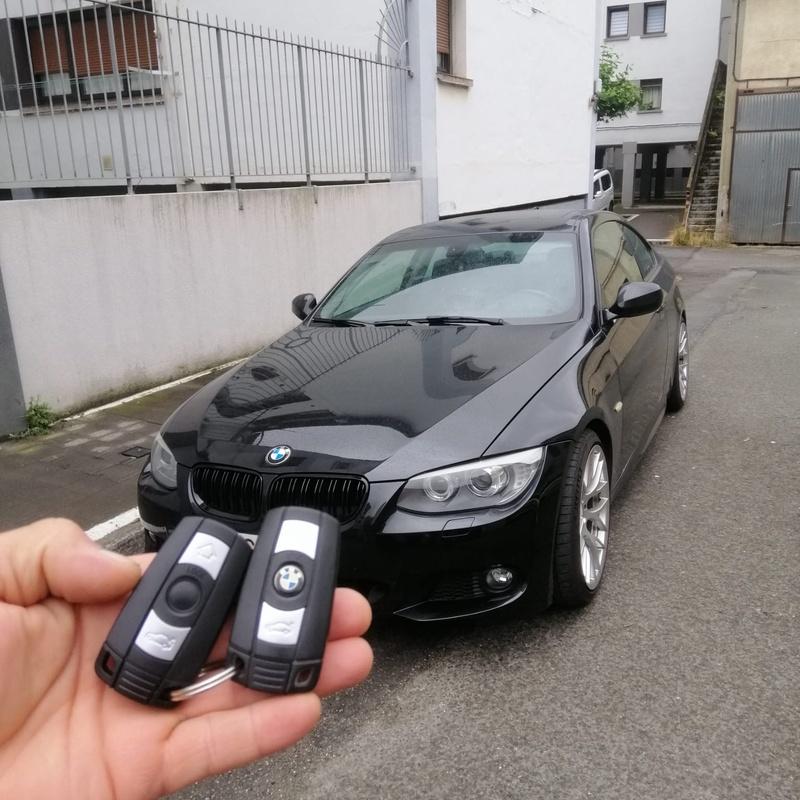 Programación de llave inteligente de BMW serie 3 del 2014