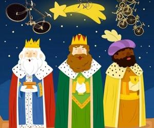 Ya vienen los Reyes en bici Aranda