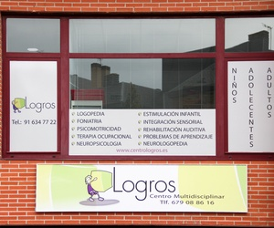 Centro Logros. El objetivo del centro es conseguir la máxima autonomía de la persona