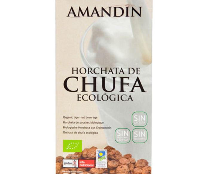 Horchata de chufa. AMANDIN: Catálogo de La Despensa Ecológica