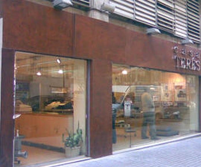 Nuestros centros: Productos y servicios de Casa Terés