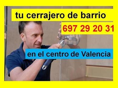 ¿Cerrajero en Valencia? Cerrajero autónomo Móvil. 697 29 20 31 en el centro de Valencia