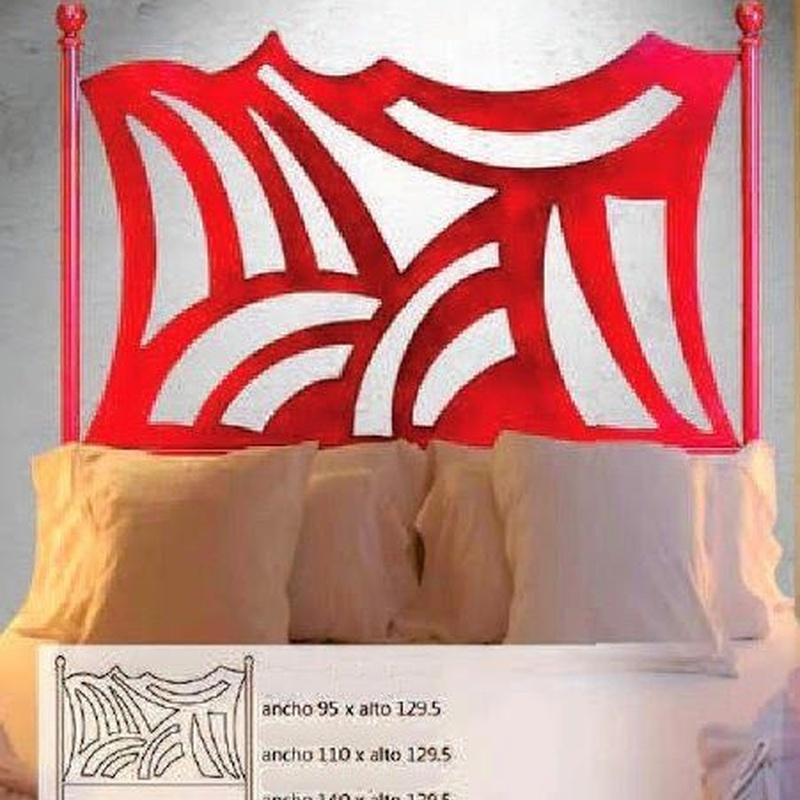 Cabecero forja Pontevedra: Catálogo de muebles de forja de Forja Manuel Jiménez