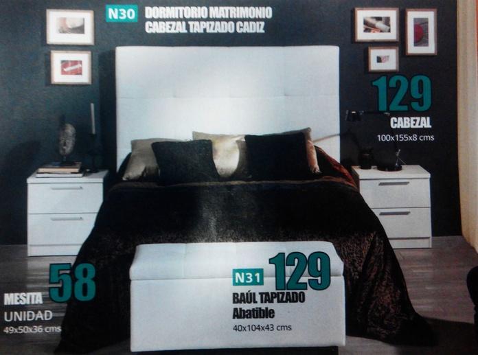 dormitorio mod.30: Productos  de Muebles Llueca, S. L.