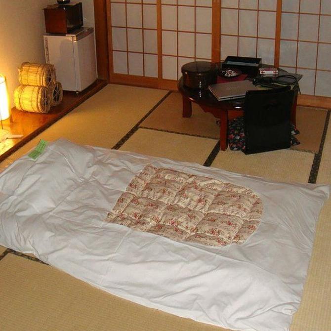 El origen del futón japonés