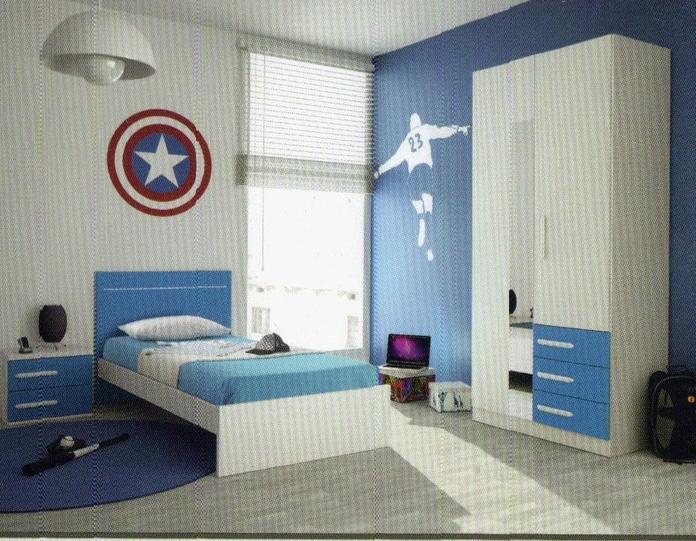 Dormitorio juvenil.: Productos y servicios de Ahorra Mobel