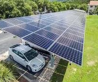 Placas fotovoltaicas o paneles solares