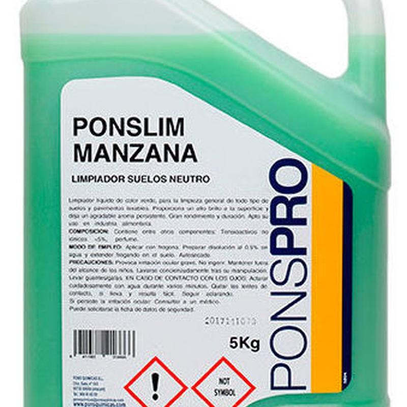 PONSLIM MANZANA: Productos y servicios de Prieto Larrey