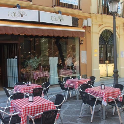Pizzeria en Utrera con terraza exterior