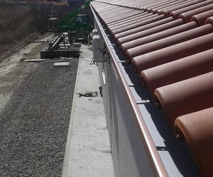 Canalones tejados