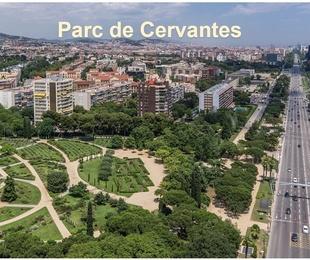 Proyecto constructivo del Lote 3 del PMI de parques urbanos en Barcelona