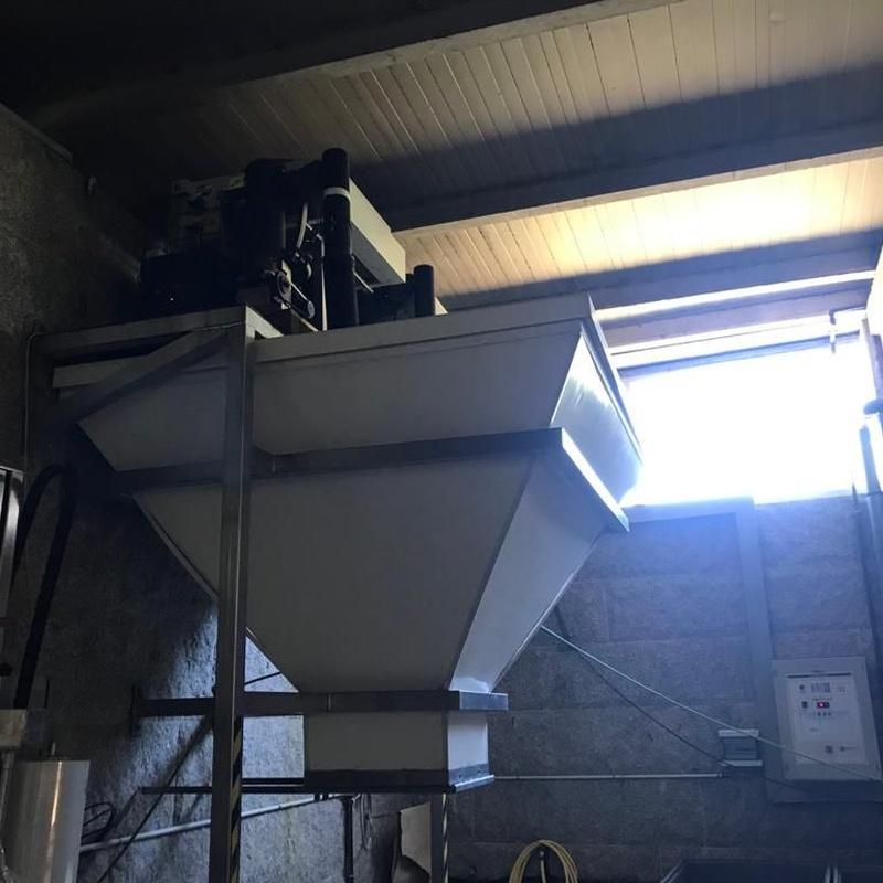 2 máquinas de hielo en escamas:  de MAQUIMUR