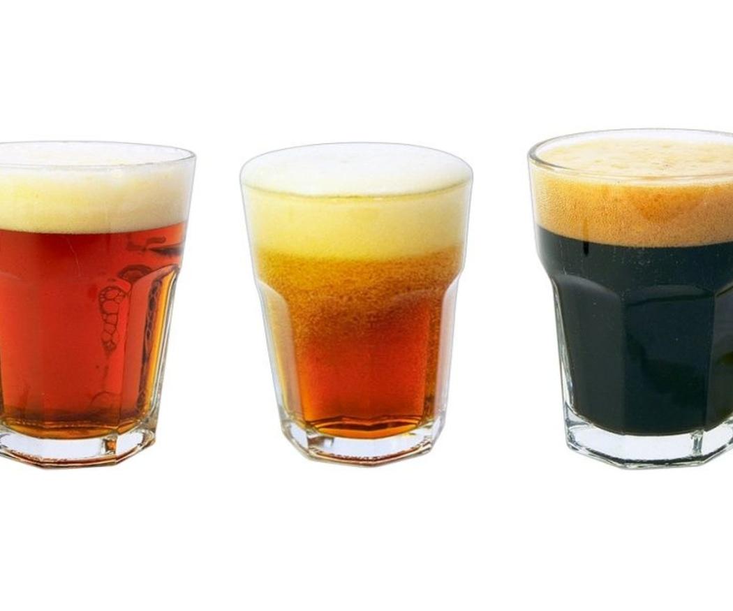 Cerveza rubia, tostada y negra