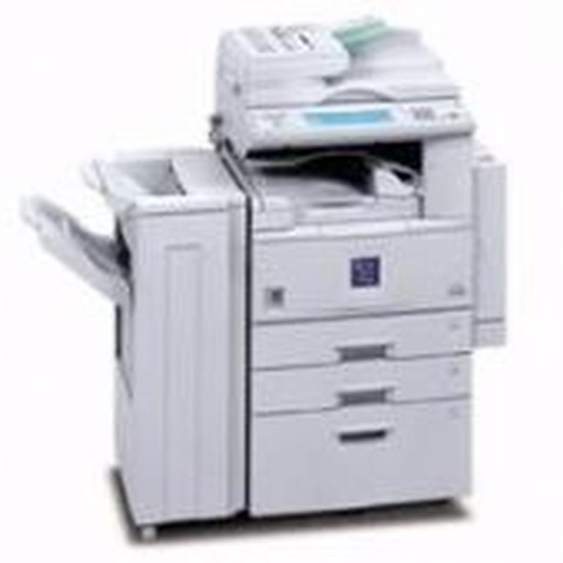 Copiadora, impresora y escaner