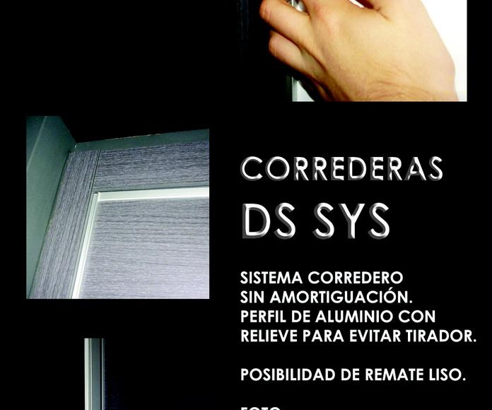 FRENTE CORREDERO DS SYS: CATALOGO  de Altxa
