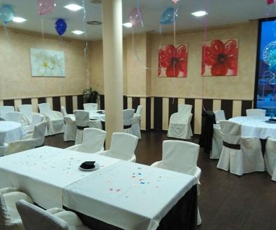 Salon para Eventos, comuniones, bautizos y otras celebraciones