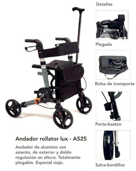Rollator freno mano a525: Productos de Ortopedia Ca N'Oriac