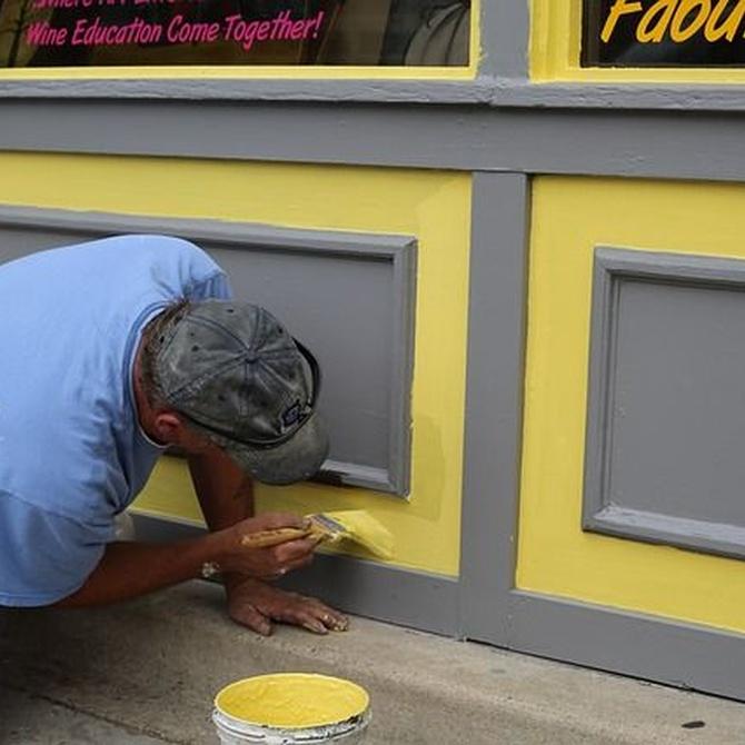 ¿Por qué deberías pintar la fachada de tu local? La importancia de la imagen