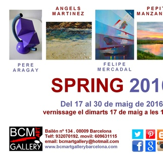 SPRING 2016 Inauguración el martes 17 de mayo