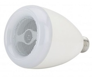 Lámpara LED 9W multicolor con bluetooth y altavoz