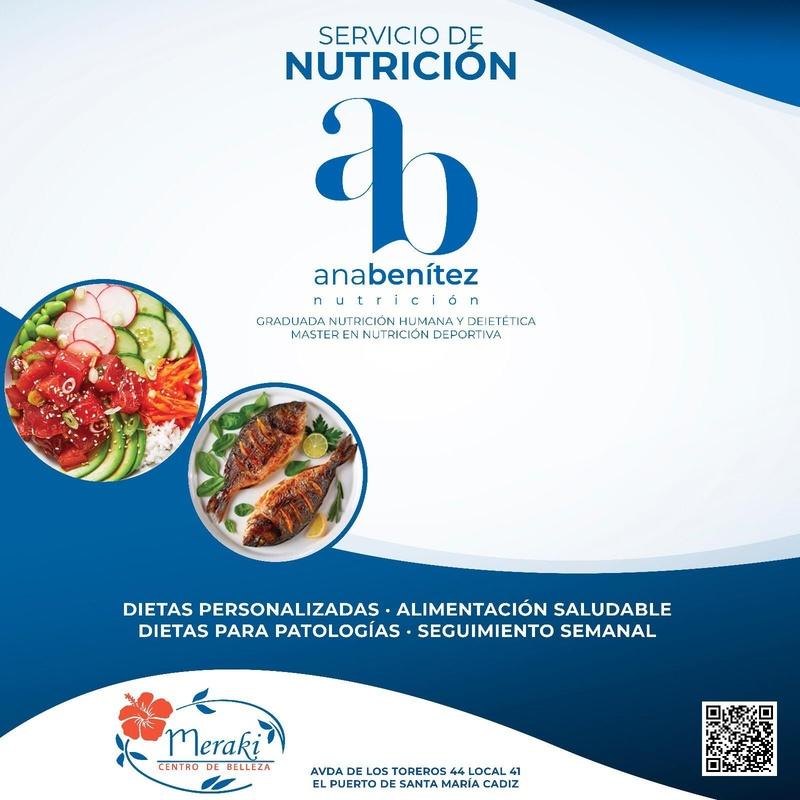 Servicio de Nutrición y dietética en Meraki Belleza