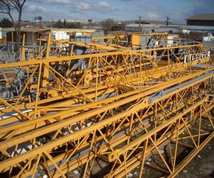 Grúas Torre 90 LD: Productos y servicios de Grufinsa