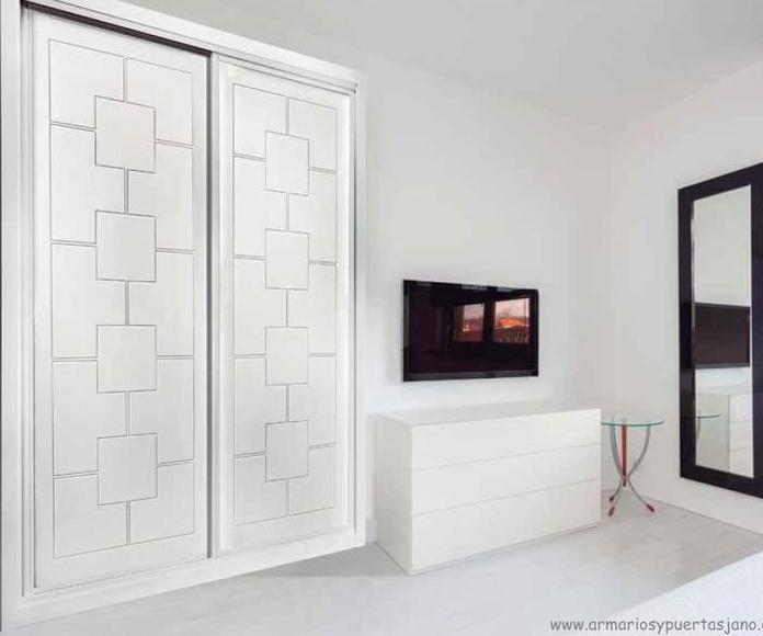 Frente de armario mod. 948 lacado blanco