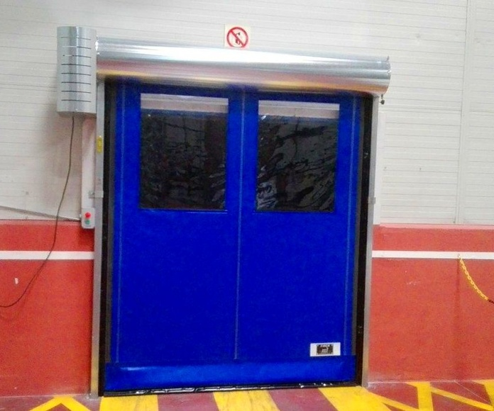 Puerta rápida enrollable auto full autorreparable Farem Giesse