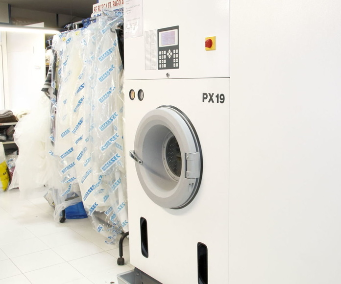 Máquina de limpieza en seco