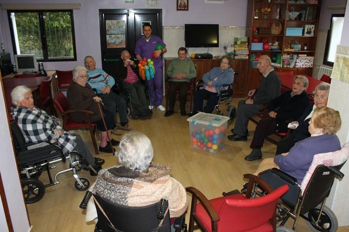 Fisioterapia geriátrica: La Residencia de Residencia San José de la Montaña