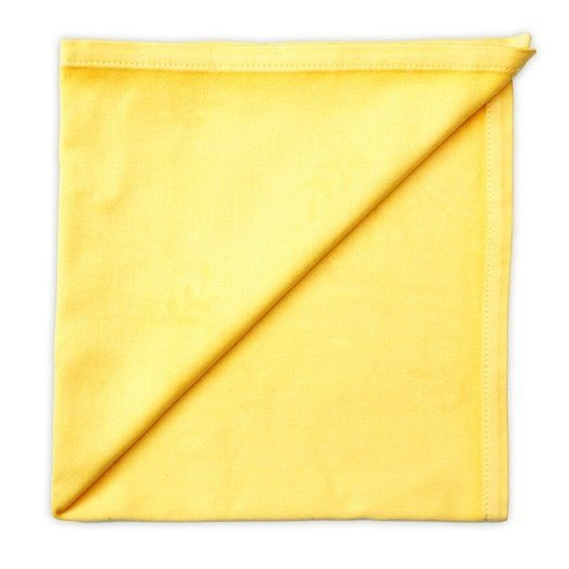 Servilleta color amarillo 50 cm x 50 cm: Alquiler de Mantelería & Menaje