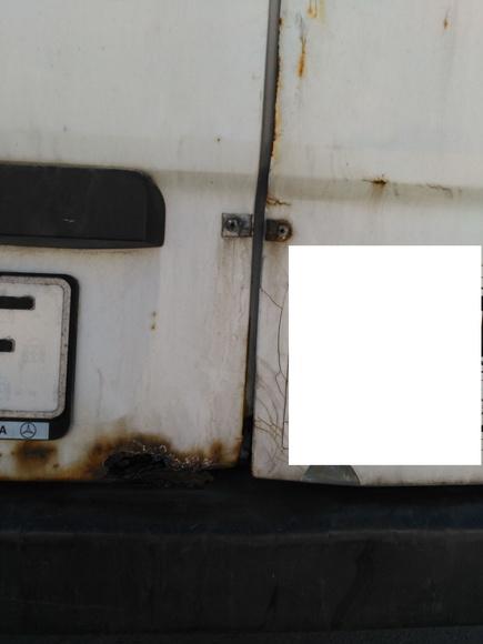 Portón trasero furgoneta