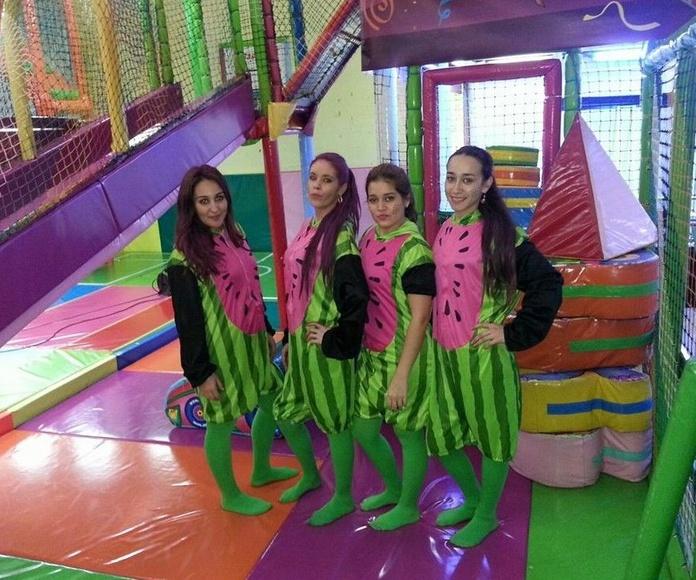 Cumpleaños: Parque infantil de Las Bolas
