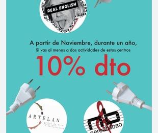 10% DE DESCUENTO EN CENTROS DE PORTUGALETE