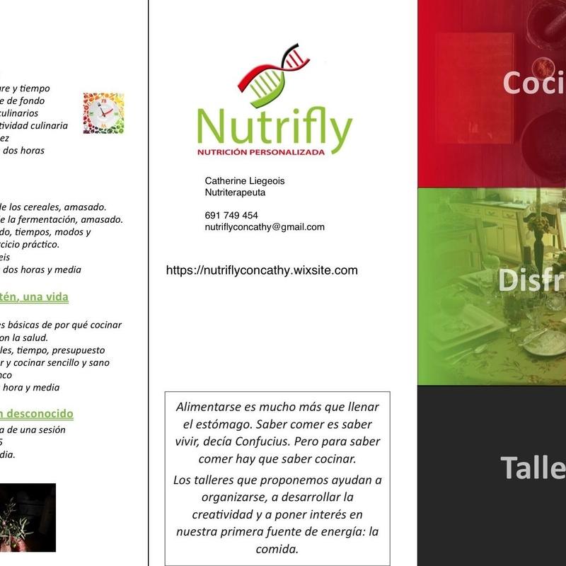 Talleres de organización de cocina: Como puedo ayudarte... of Nutricionista Catherine Liegeois