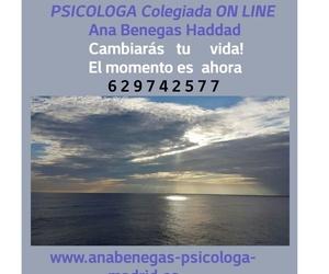Psicologa Colegiada On Line Ana Benegas Haddad