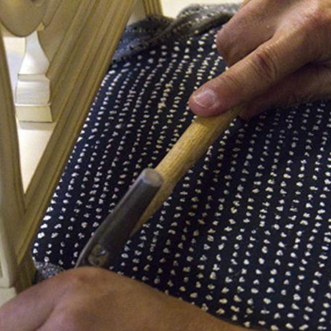 Conservando las tapicerías originales
