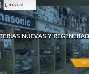 Baterías recicladas para coches en Ciudad lineal Madrid