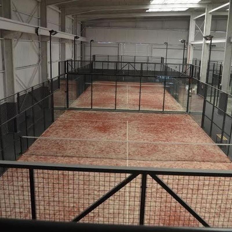 Instalaciones y material deportivo: Nuestros trabajos de Lorenzo Horcajo C. Metálicas