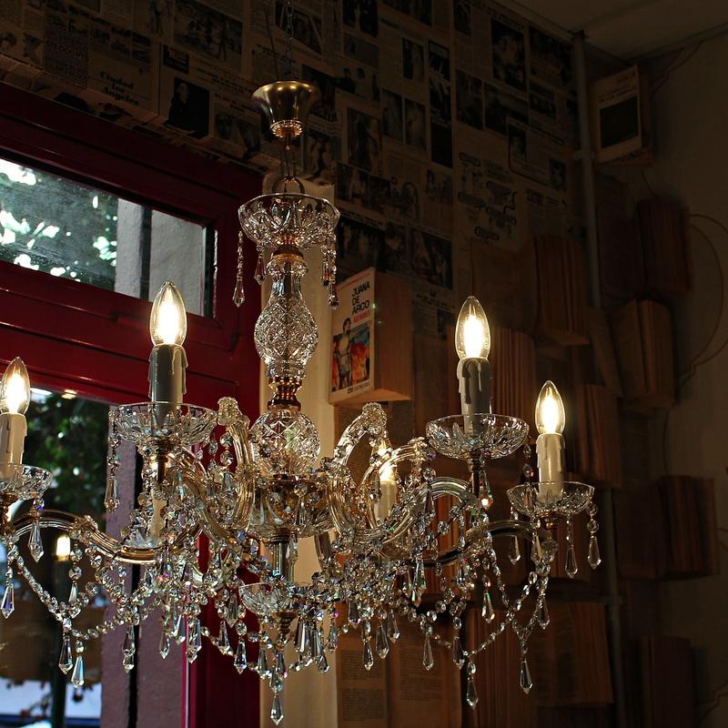 Chandelier Swarovski  REF: LAM277:  de Ruzafa Vintage